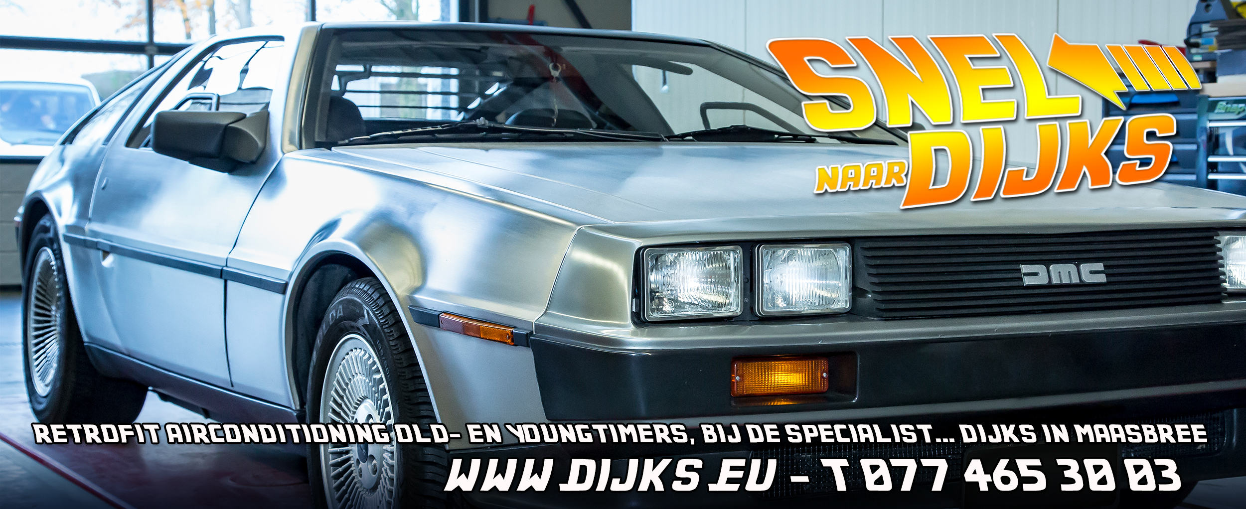 Retrofit DeLorean